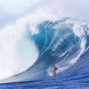 wave skiing