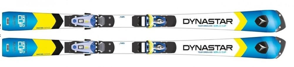 New Dynastar Team Omeglass WC R20 Pro junior slalom race skis