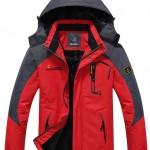 WantDo Mens Waterproof Mountain Jacket