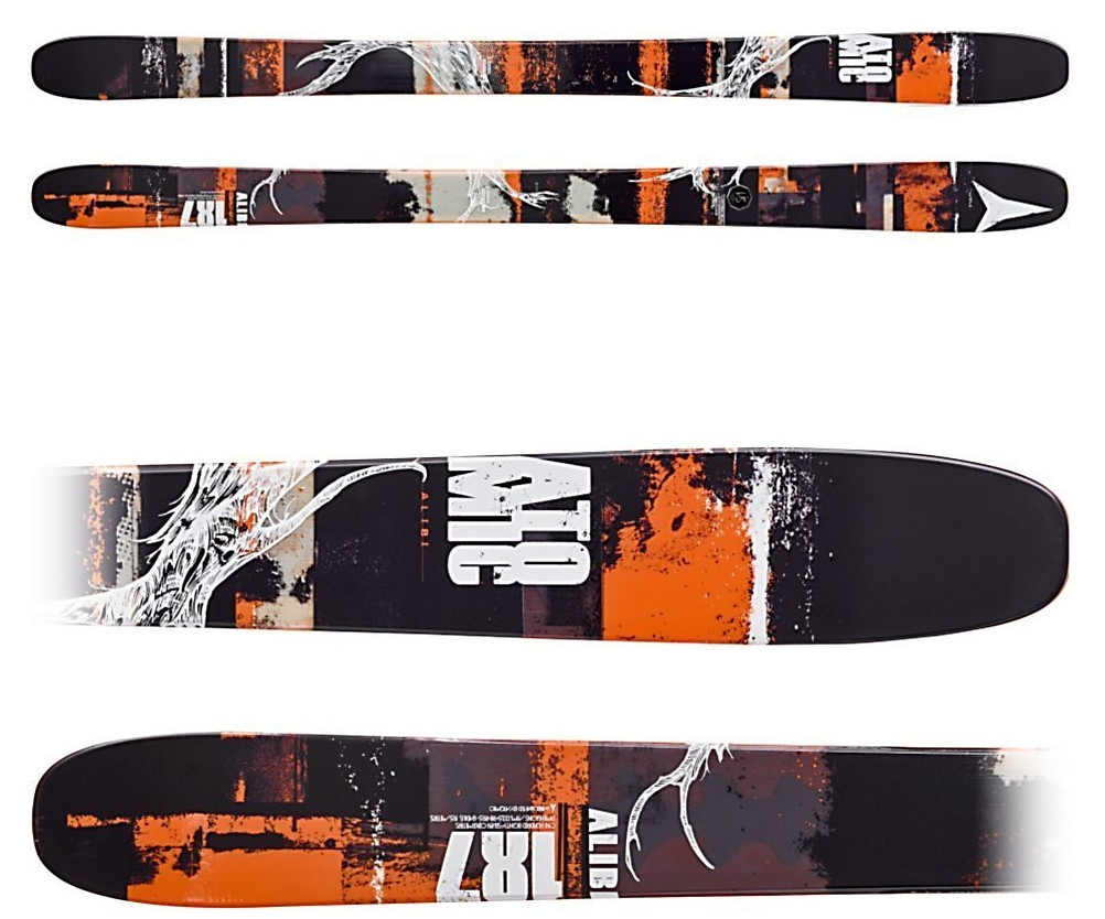 Atomic Alibi Skis
