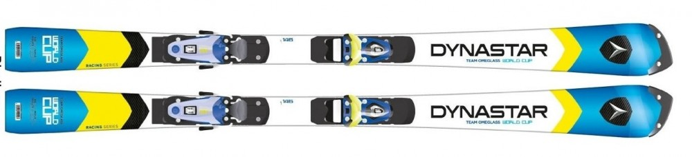 New Dynastar Team Omeglass WC R20 Pro junior slalom race skis