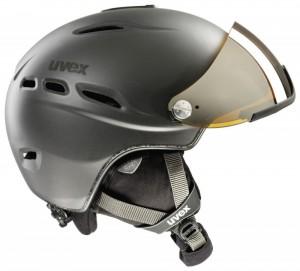 Uvex Visor 200 German Made Precision Laser Gold Mirror Shield Ski and Snowboard Helmet