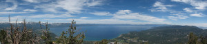 Lake Tahoe from the top of Heavenly