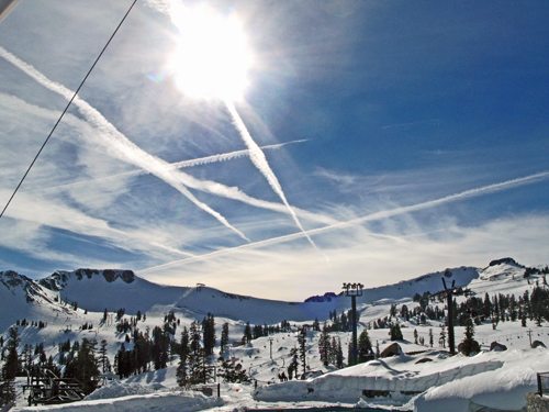Squaw Valley Ski resort, California