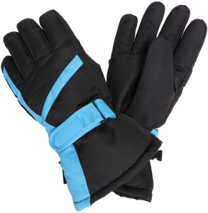 Simplicity 3M Thinsulate Lined Waterproof Ski Gloves