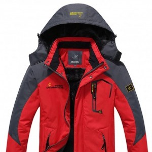 WantDo Mens Waterproof Mountain Jacket