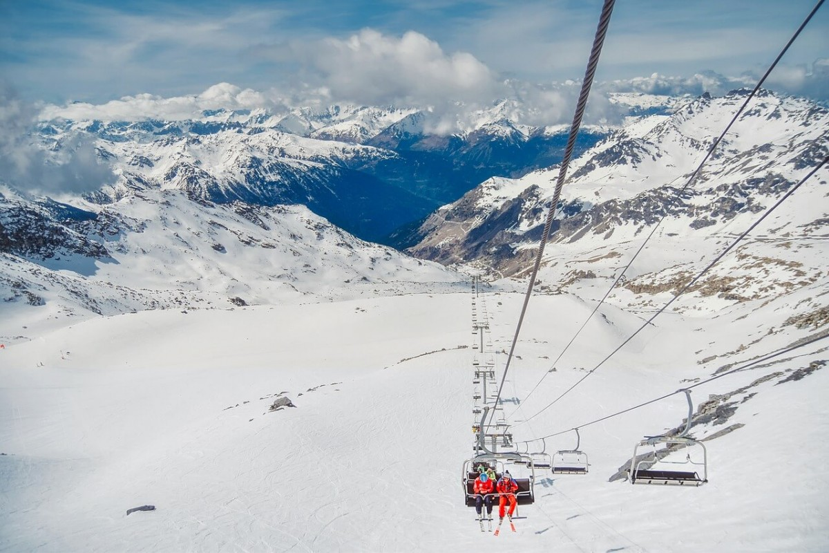 france skiing resort