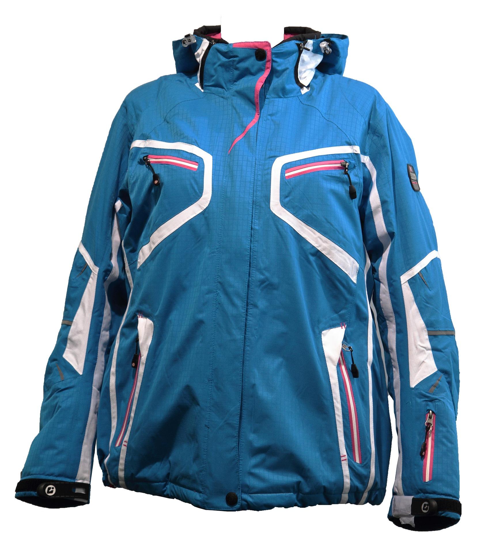 Blue Women Ski Jacket